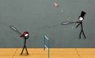 Stick Figure Badminton 2